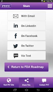 FDA Roadmap by PHT - screenshot thumbnail