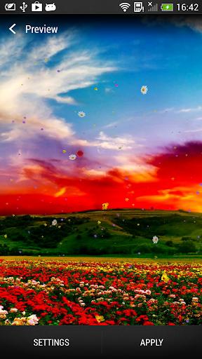 春の花 ライブ壁紙