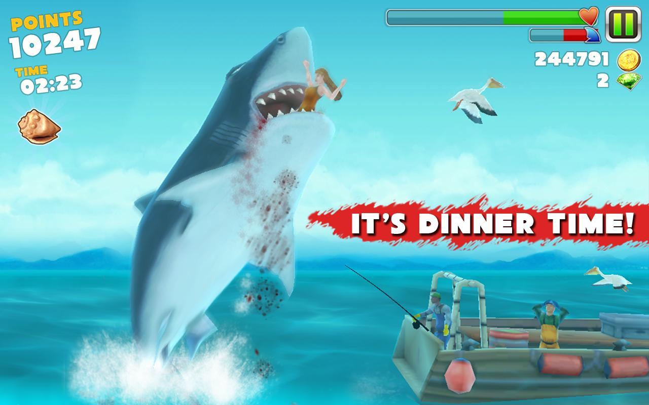Hungry shark evolution на компьютер скачать торрент