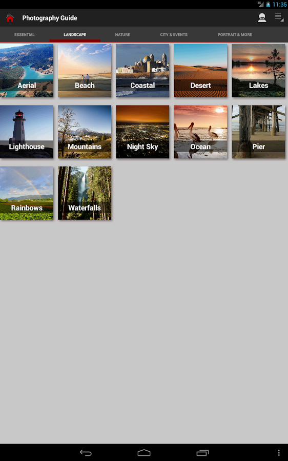 DSLR Photography Training apps- screenshot