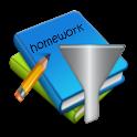 Homework Filter icon