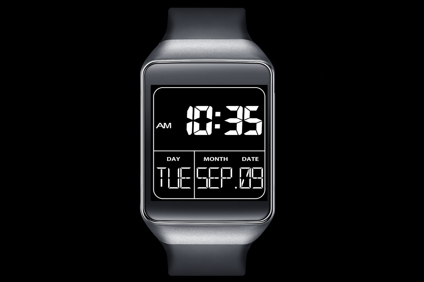 A02 WatchFace for Android Wear- screenshot