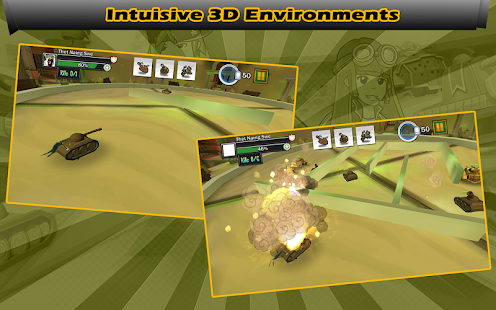 Tank Rivals - Missions (M) - screenshot thumbnail