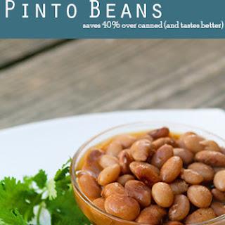 Easy Pinto Beans.