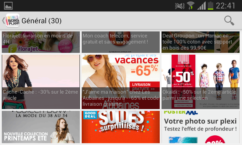 Max de bons plans+codes promos - screenshot
