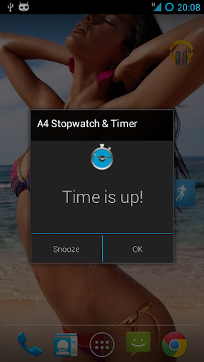 The A4 Stopwatch Timer