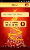 Screenshot of Santa Sings Your Name