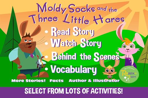 Moldy Socks the Three Hares