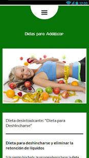 Dietas para Adelgazar - Apps on Google Play