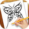 Download Learn to Draw Tattoo Designs APK on PC