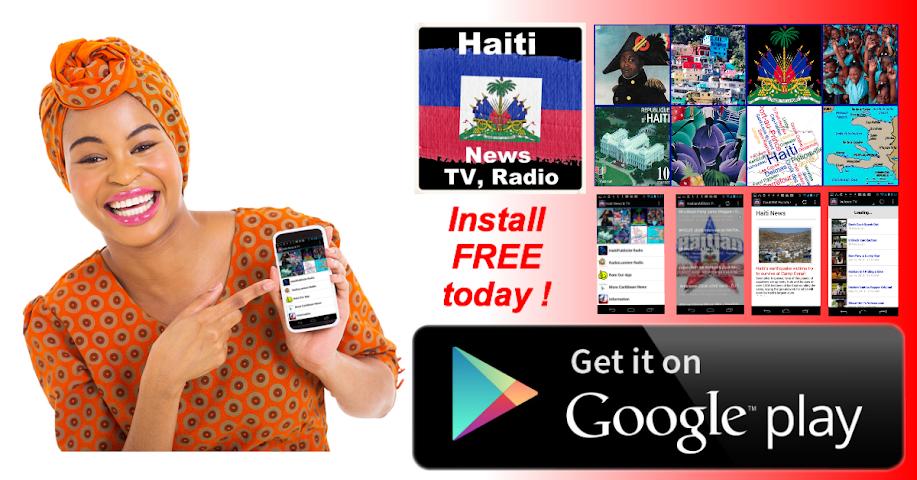 Screenshot 1 Haiti News & Radio