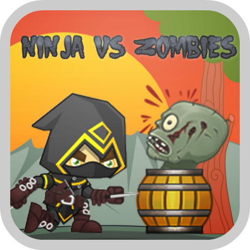Ninja VS Zombies LOGO-APP點子