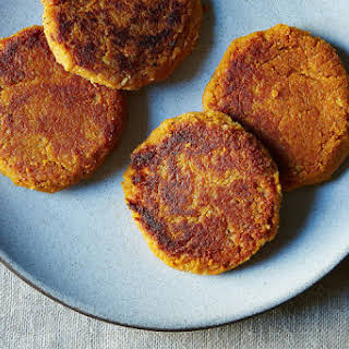 Sweet Potato and Chickpea Cakes.