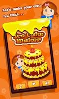 Screenshot of Ice Cake Maker