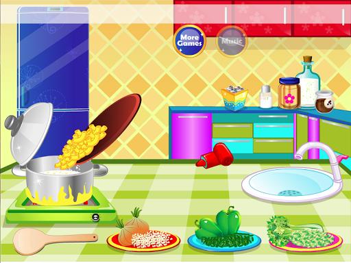 新鲜的沙拉烹饪游戏