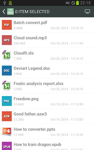 XPS到PDF在线转换