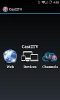 Screenshot of Cast2TV-PRO(ChromeCast etc)