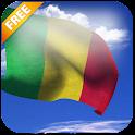 3D Mali Flag icon