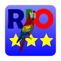 3 Stars in Angry Birds Rio logo