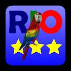 3 Stars in Birds Rio icon
