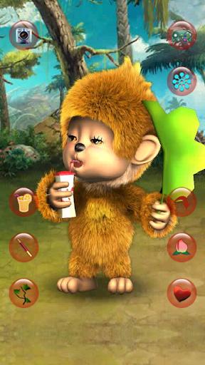귀여운 원숭이 소리를