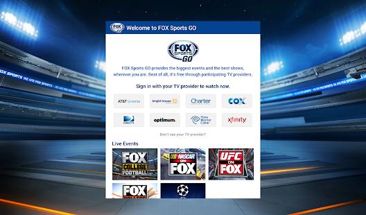 FOX Sports GO - screenshot thumbnail