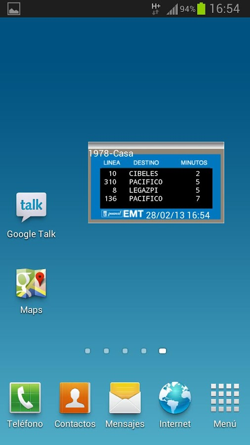 EMT Madrid 4.0 - screenshot