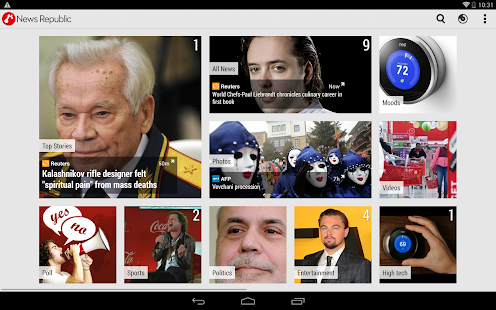 News Republic – Smarter news - screenshot thumbnail