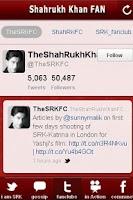 Screenshot of Shahrukh Khan FAN