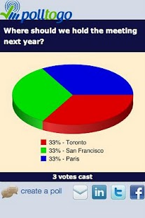 polltogo - Mobile poll maker - screenshot thumbnail