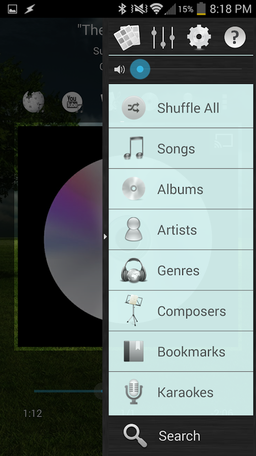 Music Player (Remix)- screenshot