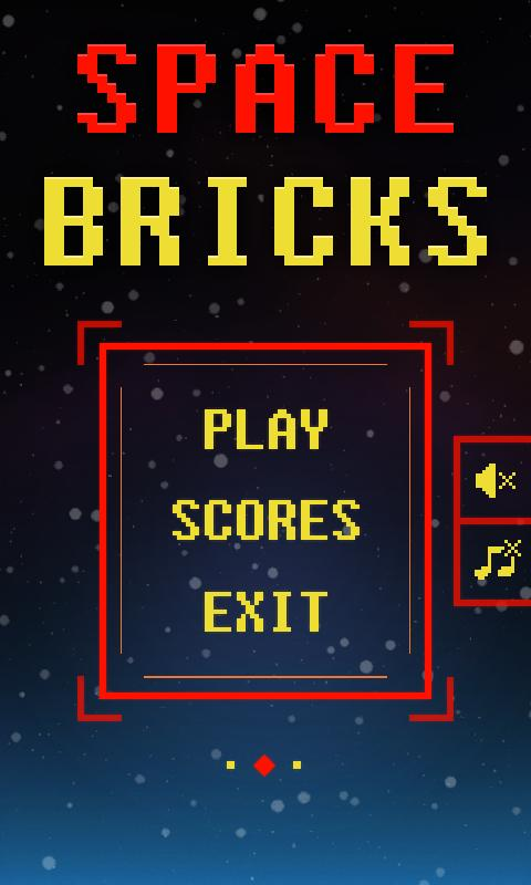 Space Bricks Breaker - screenshot