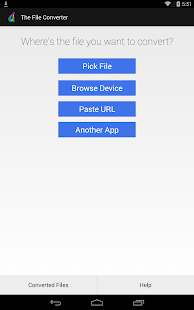 The File Converter PRO- screenshot thumbnail