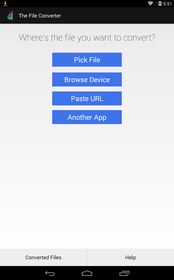 The File Converter PRO- screenshot