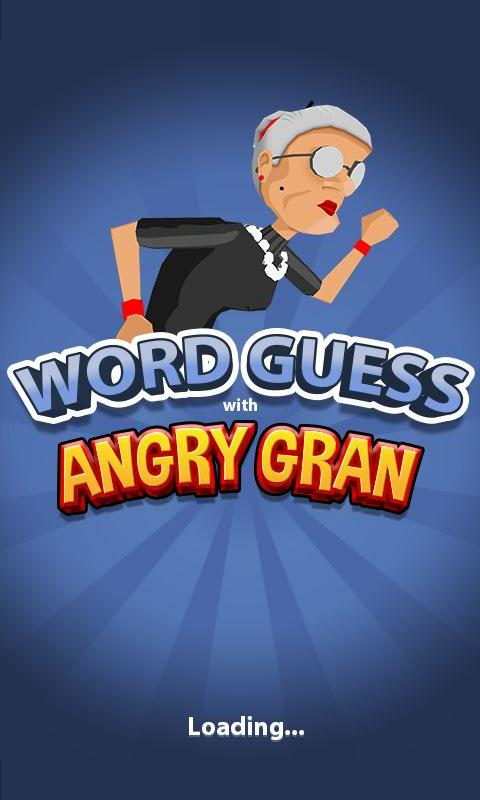 Word Games with Angry Gran- screenshot