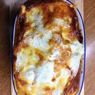 Grandma's Best Ever Sour Cream Lasagna.