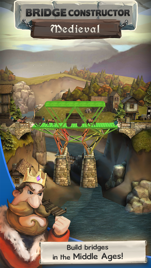 Bridge Constructor Medieval screenshot #6