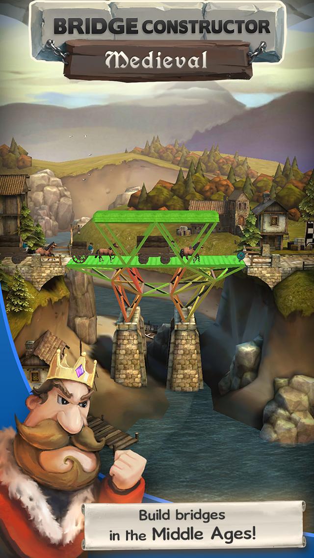 Bridge Constructor Medieval Android 6