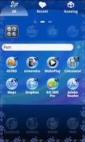 Screenshot of XO Go Launcher Butterfly theme