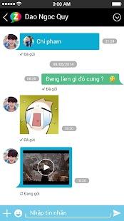 Zing Me - Tìm bạn - Chat vui - screenshot thumbnail