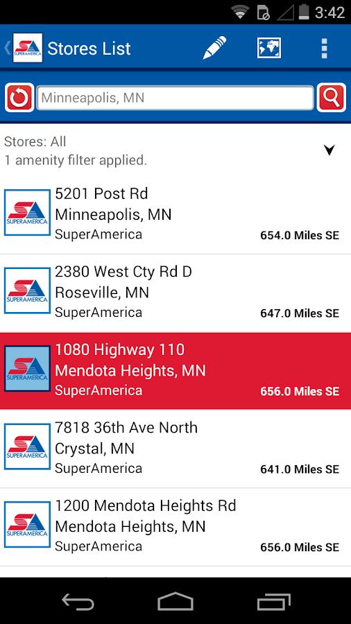 SuperAmerica Deals - screenshot