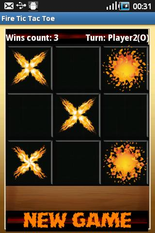Fire Tic Tac Toe - screenshot