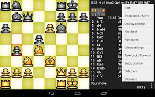 Screenshot of Chess Genius Lite