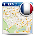 France Offline Map & Weather icon