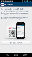 Screenshot of BTV Banking