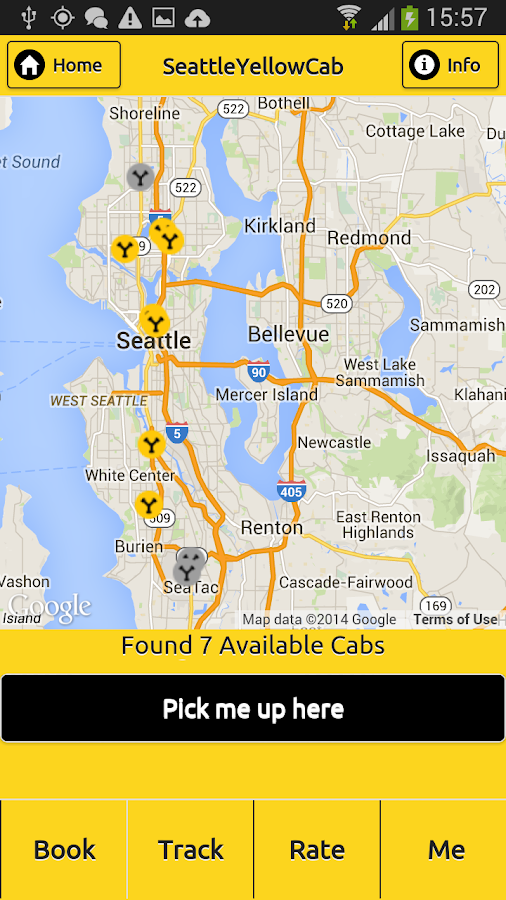 Seattle Yellow Cab- screenshot