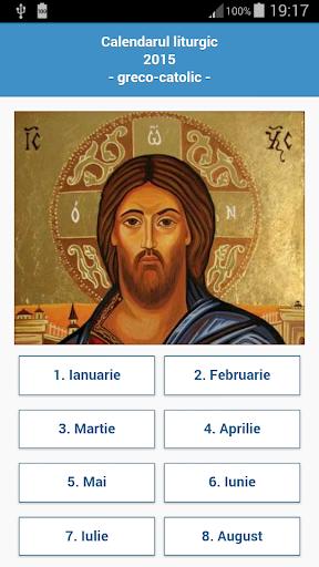 Calendar Greco-Catolic 2015