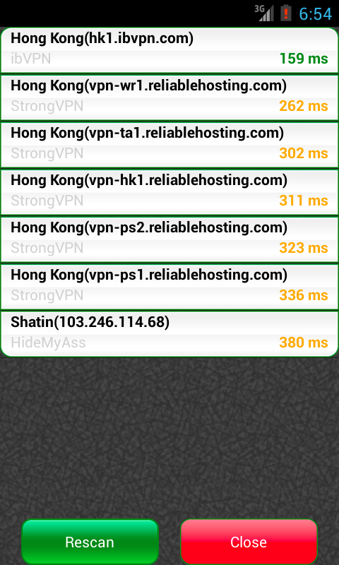 VPN Watcher - screenshot