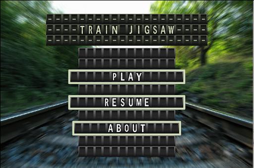 Jigsaw Puzzles Trains