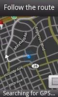 Screenshot of Remember My Location